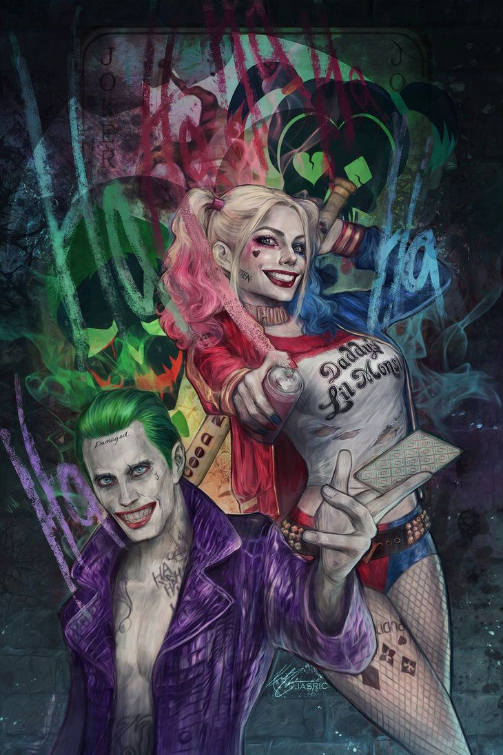 Joker and Harley (Suicide Squad)