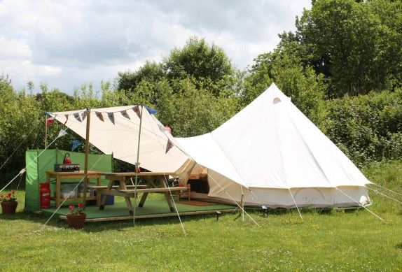 Glamping in Devon, England - Under The Milky Way, Bell Tents