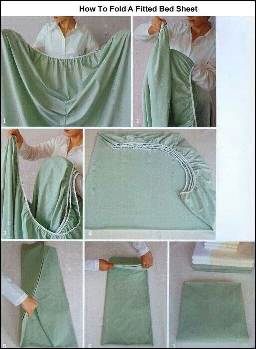 How to fold a sheets