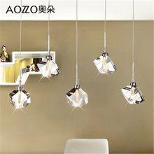 Lámpara de techo moderna de la manera k9 araña de cristal de comedor cocina sala rectangular k9 lujo lámpara LLEVÓ el envío libre(China (Mainland))