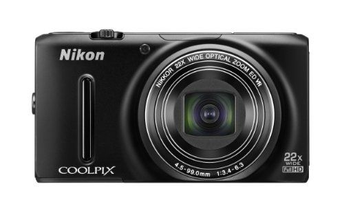 Nikon COOLPIX S9500 Wi-Fi Digital Camera with 22x Zoom and GPS (Black) - http://allgoodies.net/nikon-coolpix-s9500-wi-fi-digital-camera-with-22x-zoom-and-gps-black/