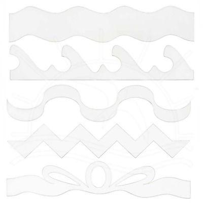 Régua Deize Costa - Kit Mini Réguas  Customize suas peças e agilize sua produção com produtos Deize Costa, referência em artesanato.  Contém: 5 peças Comprimento: 20cm Material plástico de boa qualidade, não é acrílico.   Fabricante:  Deize Costa