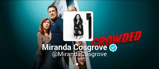 Miranda Cosgrove Verified account  @MirandaCosgrove