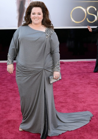 Melissa McCarthy just proves that you don't have to be stick thin to be beautiful <3