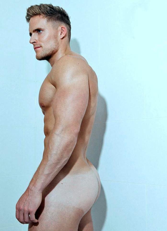 Naked man blond 11