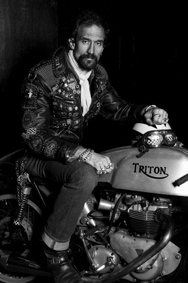 Rockers, bye Diver & Aguilar #moto #stile