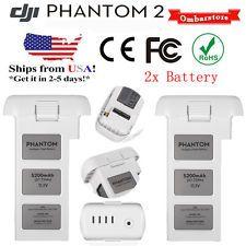 2x 5200mAh Battery 11.1V for DJI Phantom 2 Vision Plus Battery 3S Intelligent