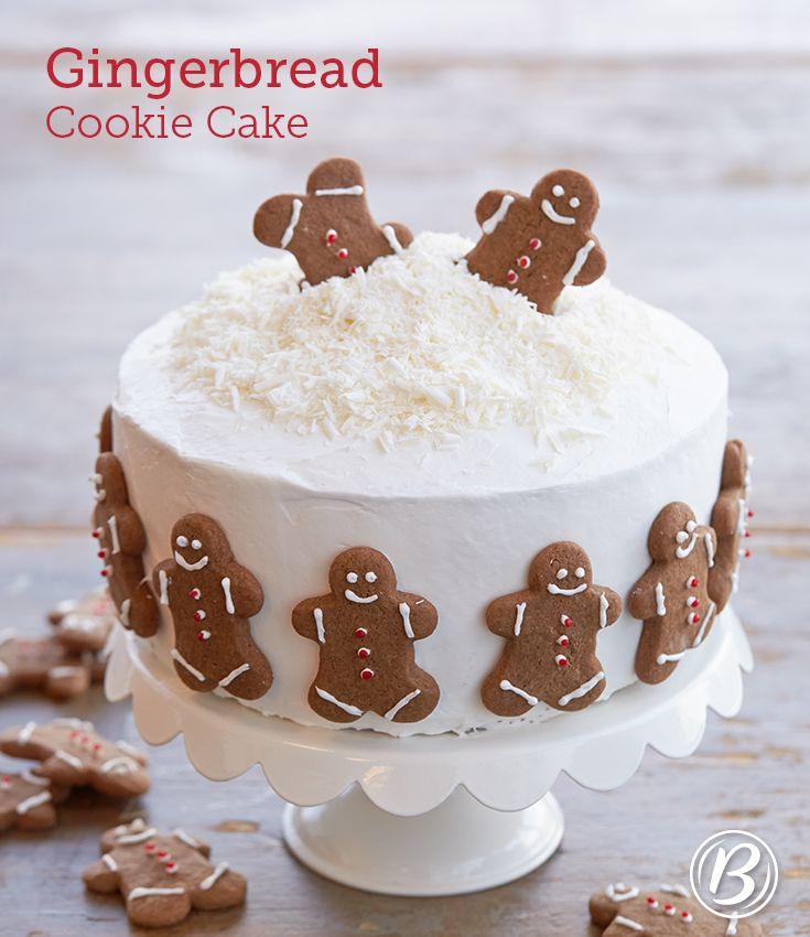 Holiday Gingerbread Cookie Cake | Recipe | Cookie cakes, The o'jays ...