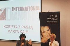 Kobieta z pasją Marta Kaim i Ewa Taras, prowadząca spotkanie.