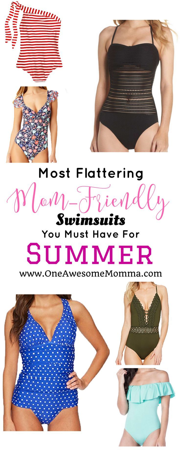 c1d87cc978 The Most Flattering Mom-Friendly Swimsuits You Should Have For Summer - One  Awesome Momma