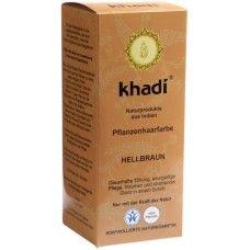 Khadi Растительная Светло-коричневая краска для волос, 100 г
