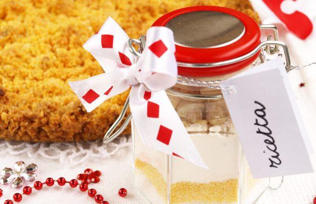 Torta in barattolo da regalare