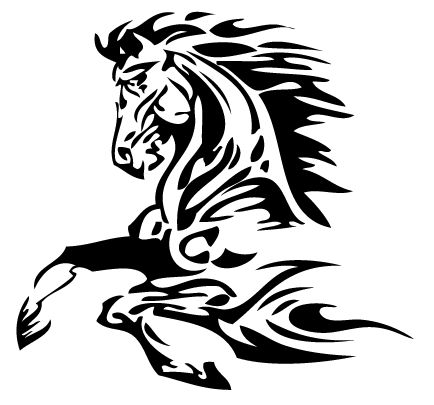 mustang horse tattoos - Google Search                                                                                                                                                                                 More