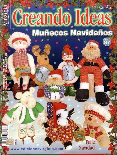 Colección de revistas de manualidades : Revistas Creando Ideas gratis