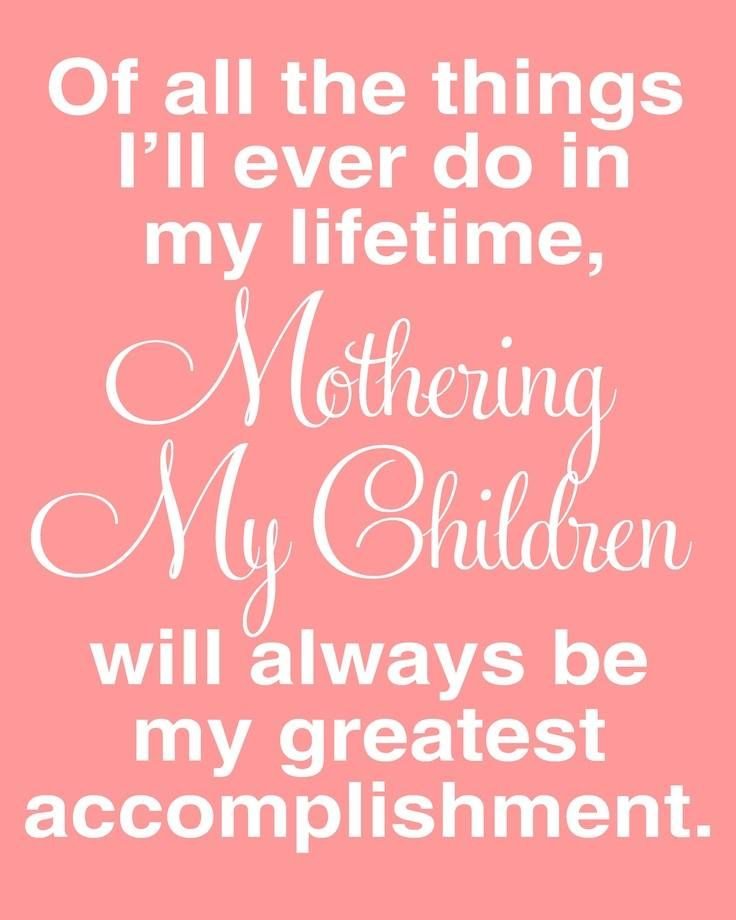 - Mothering My Children -