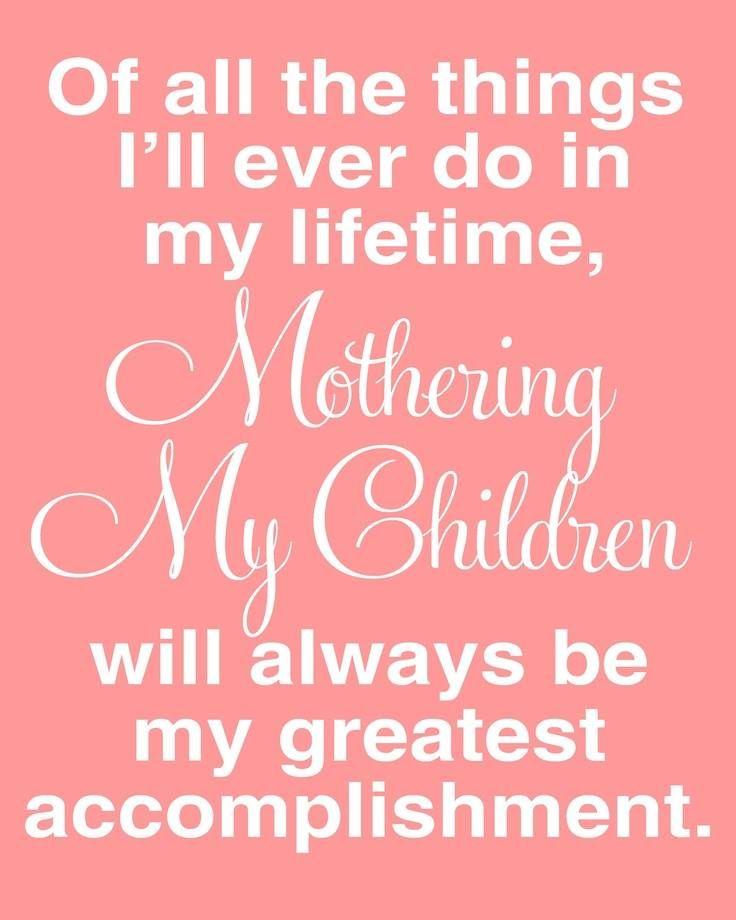 - Mothering My Children -