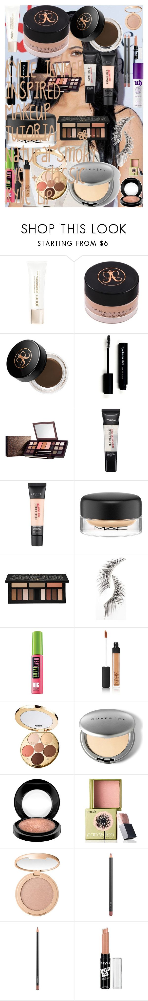"""KYLIE JENNER INSPIRED MAKEUP TUTORIAL 
