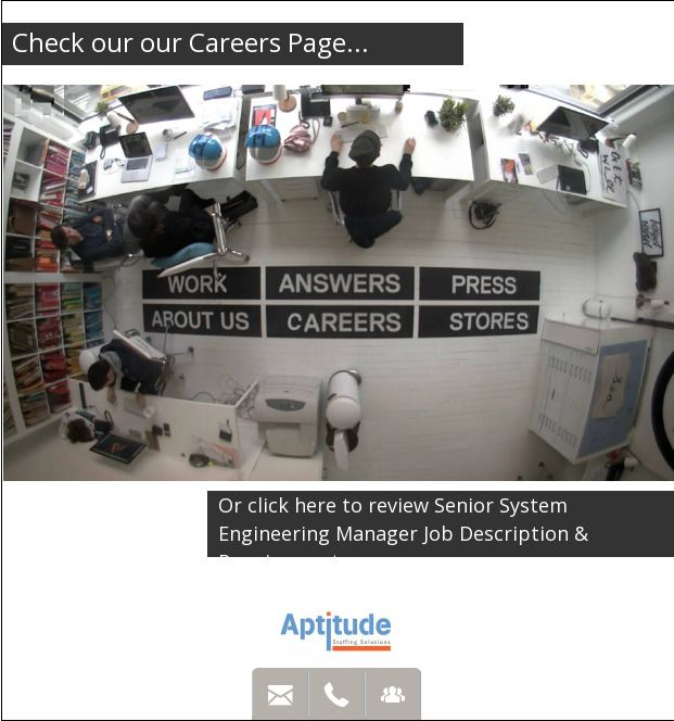 NG SR System Engineering Manage Senior System Engineering Manager - engineer manager job description