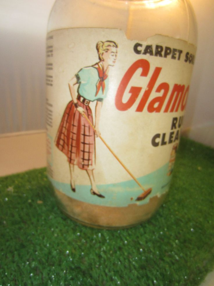 Vintage 1950S Glamorene Rug Cleaner CARPET SOILS VANISH 3