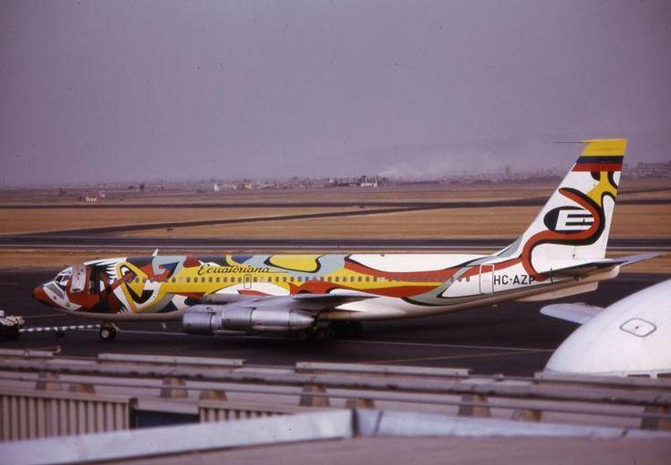 Equatoriana Boeing 720