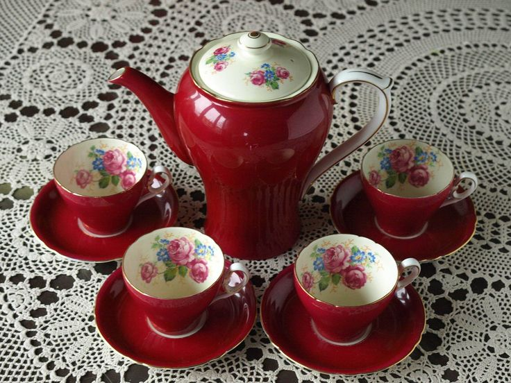 Shelley Coffee set 1945-1966.