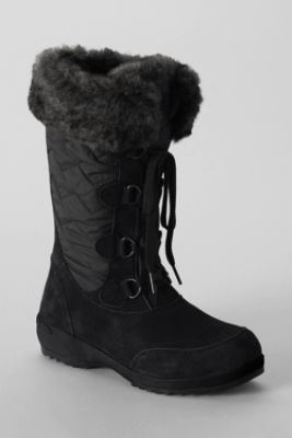 Women's Renata Short Snow Boots from Lands' End