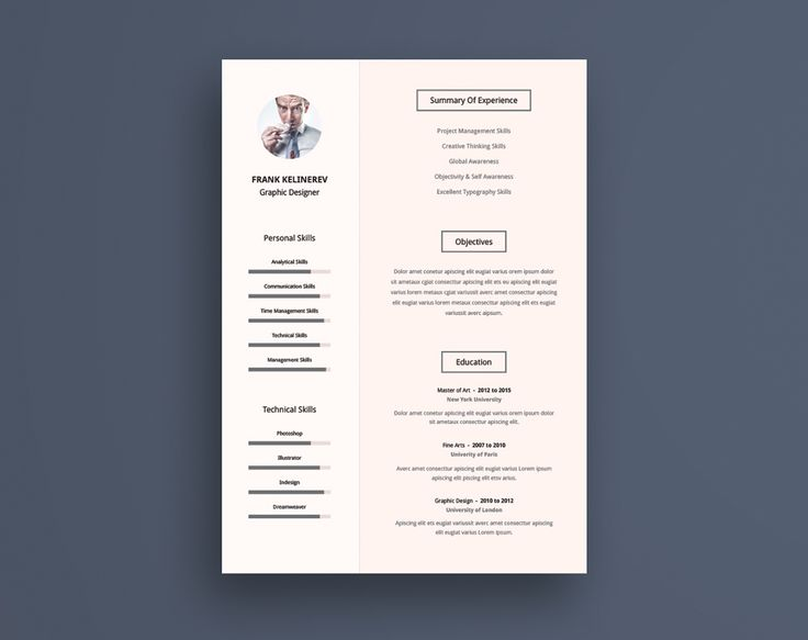The 25+ best Free creative resume templates ideas on Pinterest - creative free resume templates