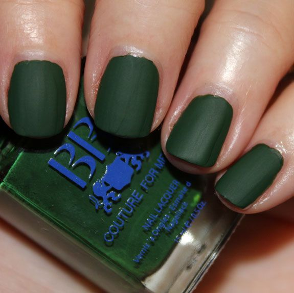Commando - A forest green matte. | BB Couture Nail Polish ...