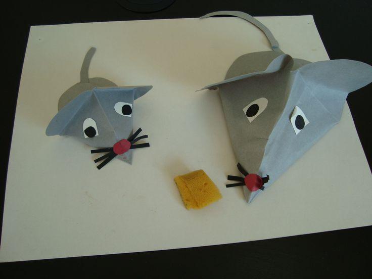 muizen vouwen