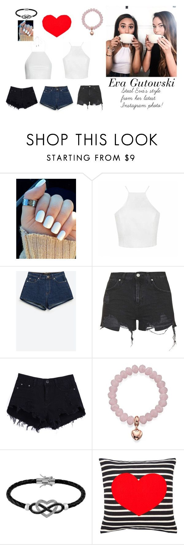 """Eva Gutowski : Her latest Instagram Photo"" by lidage on Polyvore featuring rag & bone, Zara, Topshop, Lipsy, Jewel Exclusive"