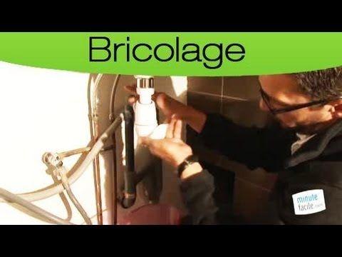 Comment déboucher un siphon d'évier ?