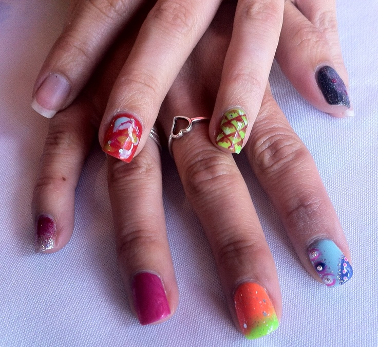 54 best Urban Spa Nail Art images on Pinterest | Spa, Nail art and ...
