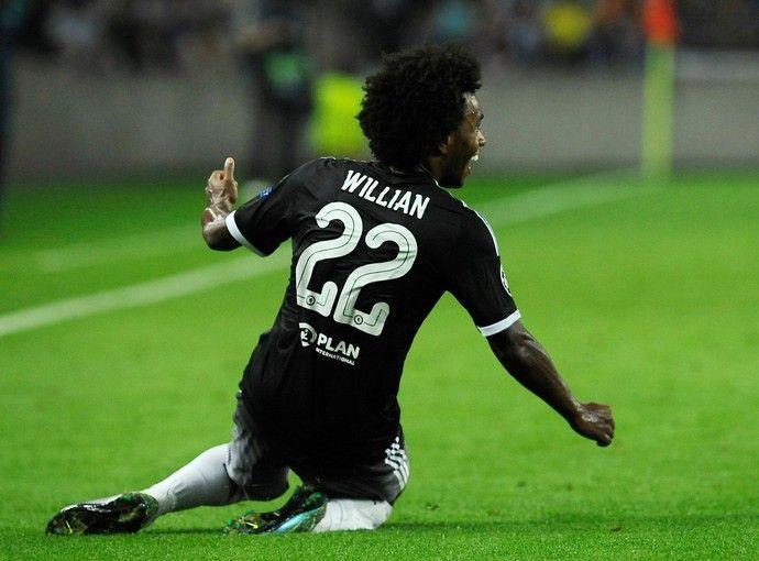 Willian - Chelsea (Foto: Reprodução/Facebook)