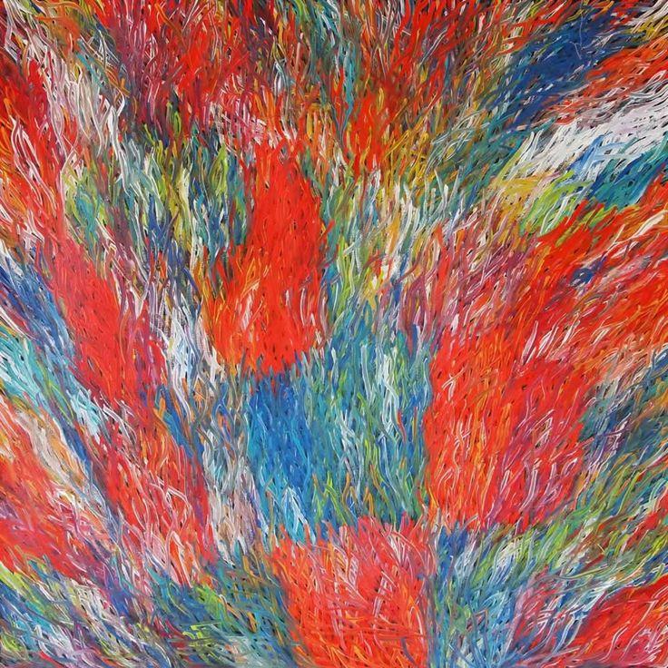 Grass Seed (BW-1008) by Barbara Weir http://merindahart.com.au/artists/barbara-weir