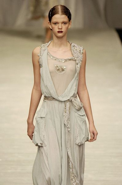 Downton Abbey on the runway.  Designer: Antonio Marras