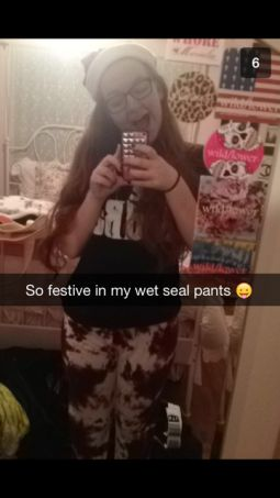 Teen retailer Wet Seal gives control of its snapchat account to 16 year old blogger (submission from Caitlin Reid)