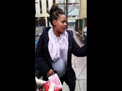 A Pregnant Woman Calls Out 5 Protesters Outside A Clinic In London - BuzzFeed News