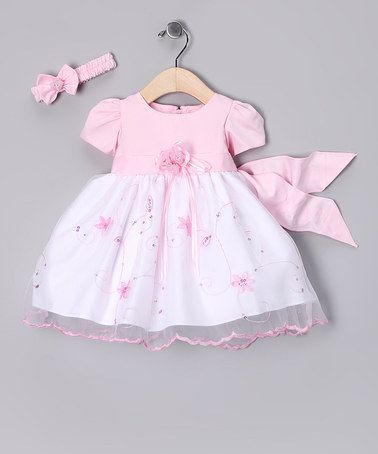 Take a look at this Pink Floral Dress & Headband - Infant & Toddler by Sugar & Spice Collection on #zulily today!