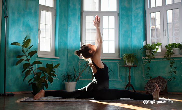 Practice These 9 Yoga Poses To Help You Get Into Full Splits Kundalini Yoga Classes Yoga Poses Advanced Yoga Poses