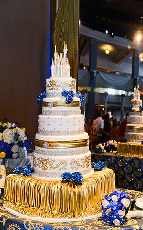 Wedding Cake Wednesday: Stunning Beast's Castle Wedding Cake!  ~~ Ever After Blog | Disney Fairy Tale Weddings and Honeymoon