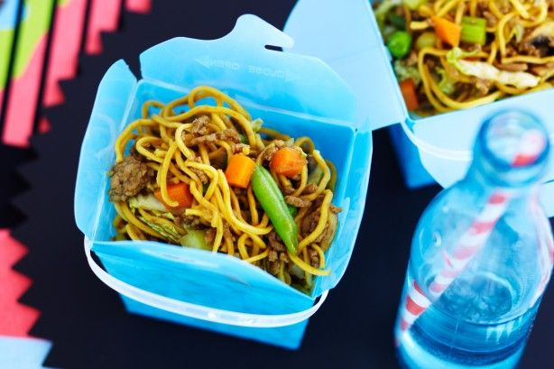 Kids love oodles of noodles, so get them in the kitchen to make this easy Chinese favourite!
