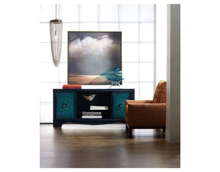 melange semblance center teal hooker furniture in a cool teal finish - Hooker Furniture Outlet