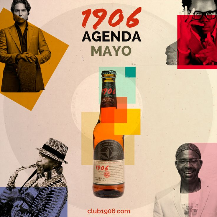 """1906, Estrella Galicia. Creatividades para redes sociales """"Vintage"""" by Manuel Pacheco #Creatividad #SocialMedia #RRSS"""