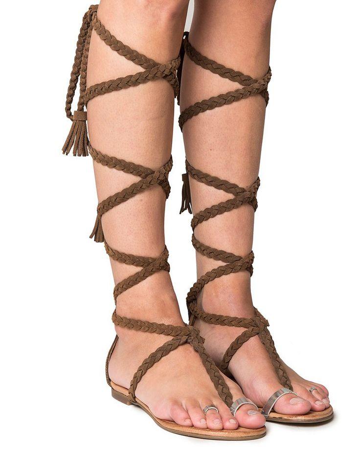 Sandalias romanas boho de Layer Boots TALLOW RINGS