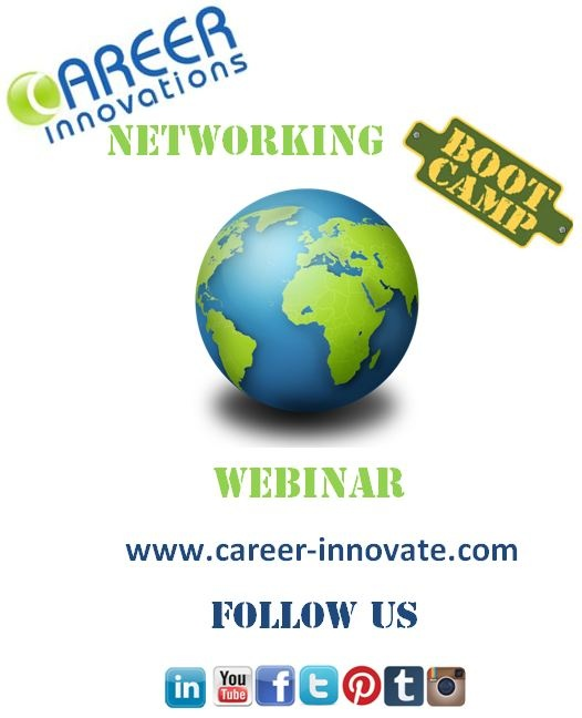 Upcoming Career Innovations Webinar!  Details will be posted soon!
