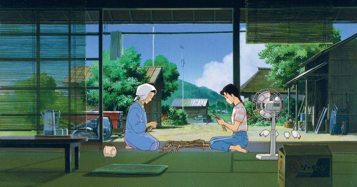 """8 marzo: per avvicinare le tante sfaccettature del femminino, Nientepopcorn.it vi propone una serie di pellicole dedicate alla rappresentazione delle donne nel cinema http://www.nientepopcorn.it/film-per-la-festa-della-donna-consigli-di-visione/ Nella foto, non a caso, vi proponiamo un'immagine tratta dal lungometraggio animato """"Omohide Poro Poro"""" (1991) di Takahata Isao http://www.nientepopcorn.it/film/omohide-poro-poro/"""