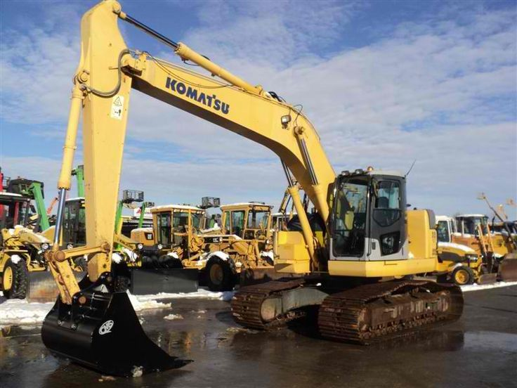 For sale Excavator Komatsu PC228US-3 Second Hand. Manufacture year: 2004. Working hours: 4700. Weight: 23000 kg. Excellent running condition. Ask us for price. Reference Number: AC3638. Baurent Romania.