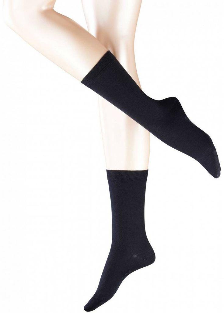 Cosy Socks | Dark Navy Falke Socks For Women | @ KJ Beckett #womens #socks
