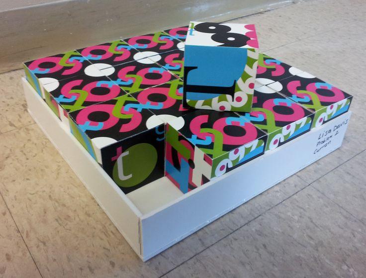Cube and Pattern - System Design - Lisa Davis Graphic Design