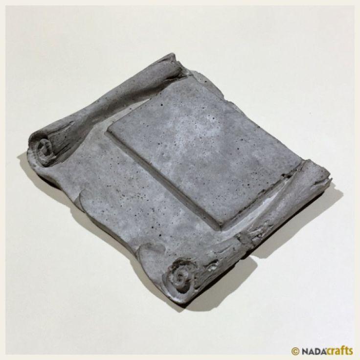 Phaon Plaket, NadaCrafts.com | Concrete Ürünler